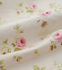 One PCS Cotton Fabric Pre-Cut Cotton cloth Fabric for Sewing Roses V33