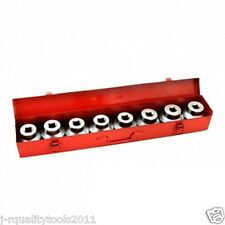 """9pc 3/4"""" INCH DRIVE DR SAE SIZE 12 POINT LARGE BIG ADD ON SOCKET SET TOOL KIT"""