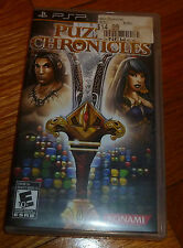 Puzzle Chronicles  (PlayStation Portable PSP, 2010) - MINT