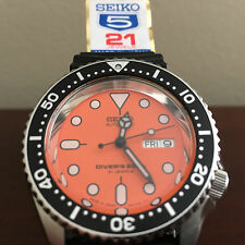 BRANDNEW Seiko SKX011J JAPAN SKX007J 980.007 ALUMINUM CR MERCEDES HAND US SELLER