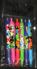 DISNEY P Mickey Mouse POP COLORFUL 6 PACK MECHANICAL PENCIL SET refillable - NEW