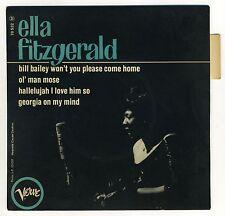 Ella Fitzgerald Vinyl 45 Tours Verve 70 532 1963 Bill Bailey Ol'Man Mose Georgia