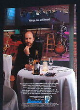 1992 John Scofield Ibanez AS200 semi-acoustic guitar photo print Ad
