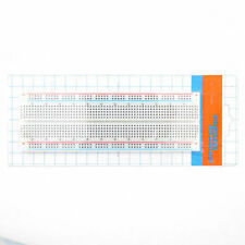 1pcs MB-102 Solderless Breadboard Protoboard 830 Tie Points 2 buses Test Circuit
