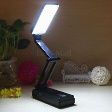 27 LED Foldable Rechargable Study Reading Table Desk Lamp Light Touch Control