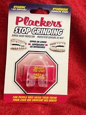 Plackers Stop Grinding Dental Night Guard  Protector Bruxism Clenching Teeth