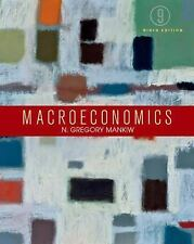 Macroeconomics, Mankiw, N. Gregory, Good Book; BARELY USED; BETTER THAN LIKE NEW