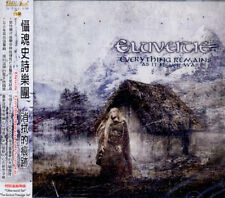 Eluveitie: Everything remains as it never was (2010) CD OBI TAIWAN 2 BONUS TRACK