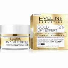 Eveline Cosmetics 24K Gold Lift Expert 50+ Day/Night Face Cream-Serum 50ml