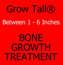 "GROW TALLER Gain Up To 6 Inches In Height, 8 Month Supply ""GROW TALL"" Capsules.."