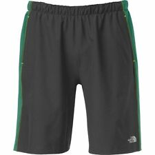 """The North Face Mens AMPERE DUAL 9"""" Short Wicking Liner Running Gym Shorts M Grey"""