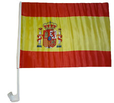 Bandiera per auto Spagna 30 x 40 cm Finestra Fan