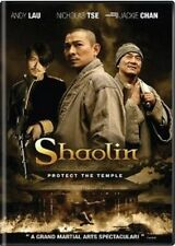 SHAOLIN - NEW DVD--FREE UPGRADE TO 1ST CLASS SHIPPING