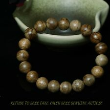 kalimantan Tarakan 10mm Mala Meditation Wild Agarwood Aloewood Prayer beads#T099