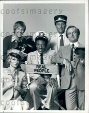1979 S Purcell B Allen J Barbour B Rafferty TV Show Real People Press Photo