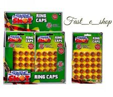 Sure Shot Ring Caps 200 Caps Fits all 8-shot toy guns rifles 1x Pack