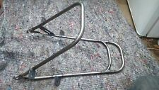 VINTAGE sunbeam  motorcycle rear lifting handle  and toolbox mount