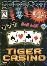 Tiger Casino cartridge for Tiger Electronics Game.Com console NEW Free Ship