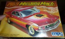 MPC 1/25 SCALE 1969 MUSTANG MACH 1  Model Car Mountain KIT FS