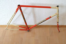 vintage Bahnrad Rahmen Pista Track frame SCAPIN Italy RH 56 m-m !Rare Steel!