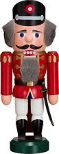 NUßKNACKER Polizist rot 25cm NEU Erzgebirge Seiffen Volkskunst Original