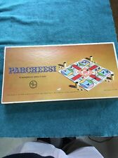 VINTAGE Gold 1959! Parcheesi Backgammon Board Game GOLD SEAL EDITION