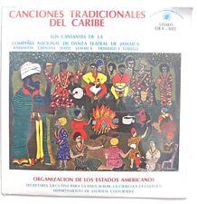 SEALED CANCIONES TRADICIONALES DEL CARIBE LP Jamaica 1979 OEA005 Stereo