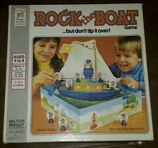 Vintage MB Rock The Boat Game Richard Scarry But Don't Tip It Over 4844 Parts