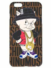 100% AUTHENTIC Moschino Couture X Jeremy Scott Porky Pig iPhone 6 / 7 PLUS Case