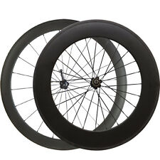 50mm+88mm Depth Clincher Carbon Wheels Carbon Road Bike Bicycle Wheelset