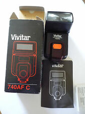 VIVITAR 740 AFC AUTO FOCUS ZOOM FLASH UNIT NEW