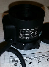 "PENTAX / COSMICAR 12mm Camera Lens HS1214E 1/2"", F1.4-300 E, CS-Mount, w/CN"
