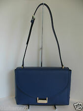 Authentic KATE SPADE NEW YORK Miro Street Edna Emperor Blue Leather NWT WKRU3383