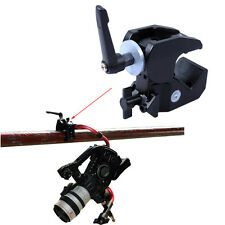 Strong Clamp Clip Pliers Camera Holder Flash Bracket Lens Support Max. Load 10kg