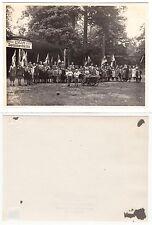 """Karlsruhe, Kinder im CVJM Sommerheim """"P.. Anlage 5"""", Waldheim RPhoto c.1925"""