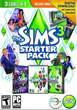 The Sims 3 Starter Pack, Includes Late Night & High-End Loft Stuff (PC, 2013)