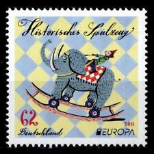 Europa-CEPT 2015. Historisches Spielzeug. Affe, Elefant. 1W. BRD 2015