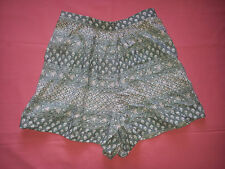 BNWT ABERCROMBIE & FITCH DITSY PRINT SHORTS SIZE XS UK 6-8 TEEN GIRLS
