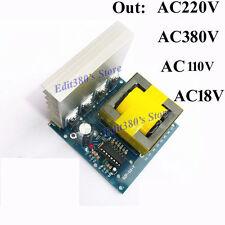 DC-AC Converter Inverter 12v to 110V 220V 380V 500W Transformator power supply