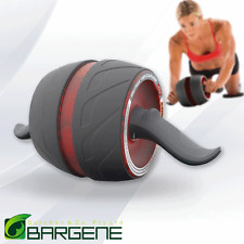 Fitness Ab Carver Pro Exercise Wheel Roller Six Pack Abs Workout Gym Red