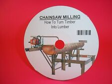 "Chainsaw Milling Manual On a ""CD"" - Turning Trees To Timber -"