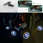 2x Car Door LED Courtesy Welcome laser Projector Logo Ghost Shadow Light For BMW