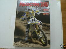 MOTORCROSS 2007 YEARBOOK MOTORGAZET,BROWN,BARRAGAN,LEOK,PRIEM,REUVER,NEMETH,MX