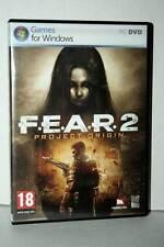FEAR 2 PROJECT ORIGIN USATO OTTIMO STATO PC DVD VERSIONE ITALIANA RS2 40266