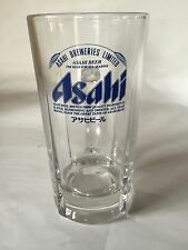 New Japanese No.1 Brewery Asahi Beer Mug Collectible Blue Printed 0.8L Japan F/S