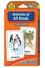Animals of All Kinds Flash Cards by School Zone Publishing Company Staff (Cards)