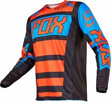Fox Racing 2017 YOUTH 180 FALCON Motocross Jersey Black / Orange Size XL