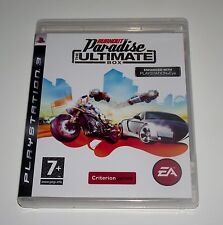 Burnout PARADISE THE ULTIMATE BOX GIOCO PER SONY PS3 PLAYSTATION 3