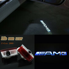 2x LED AMG Logo laser Projector door light For Mercedes-Benz A/B/C/E-Class 12~