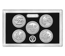 2017-S Silver ATB Proof Set 5 Coin NO Box And COA Mint Fresh